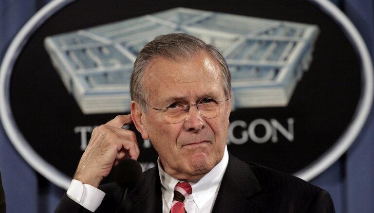 Умер бывший министр обороны США Дональд Рамсфелд