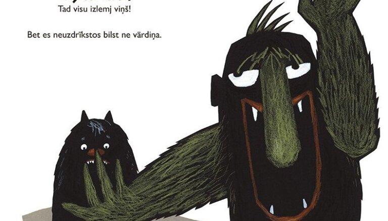Izdota bilžu grāmata bērniem 'Briesmonītis teica NĒ!'
