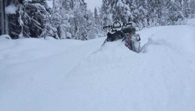 В трагическом ДТП погиб водитель снегохода