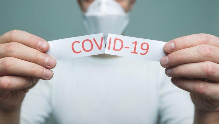 Turpinās Covid-19 inficēšanās gadījumu samazināšanās