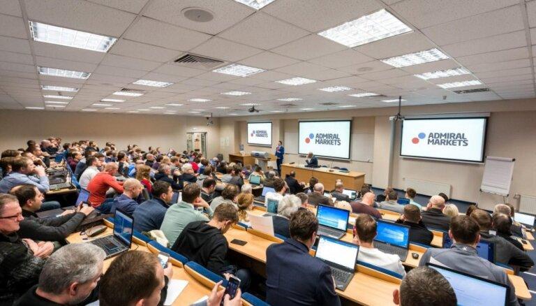 Jaunā investoru paaudze Latvijā pieaug kopā ar Admiral Markets UK Ltd: Lielākais seminārs Admiral Markets Latvija vēsturē