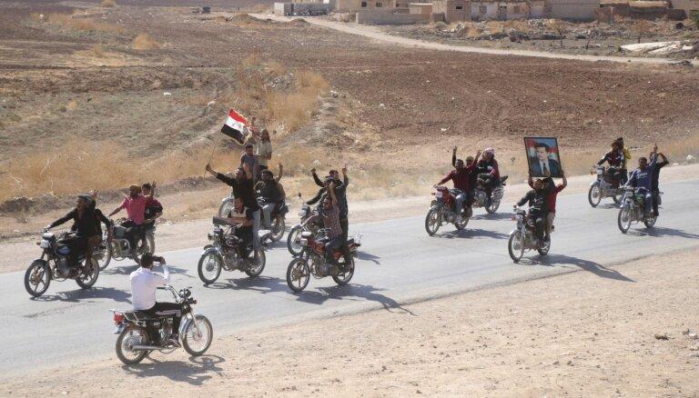 Francija apsver savu karavīru atsaukšanu no Sīrijas