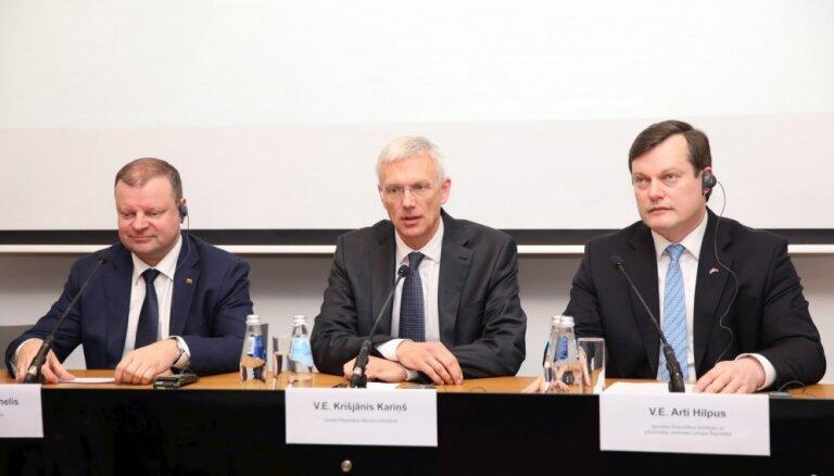 Baltijas valstis skeptiskas par jaunu sarunu sākšanu 'Brexit' jautājumā