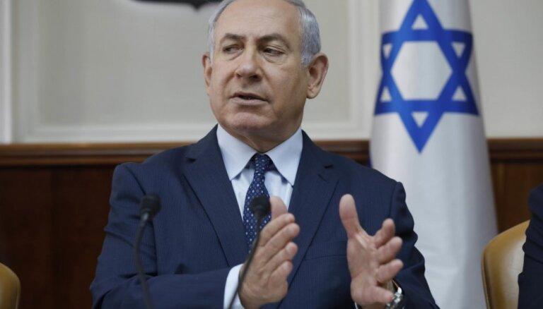 Netanjahu aicina Baltijas valstu premjerus palīdzēt pastiprināt spiedienu uz Irānu