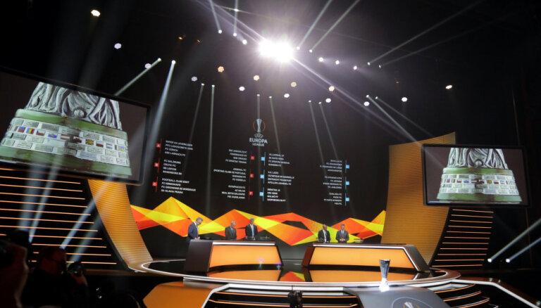 Состоялась жеребьевка группового этапа Лиги Европы, Гризманн получил награду