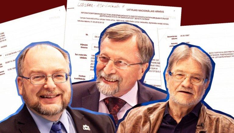 Maisi vaļā: Ekskluzīvas liecības par čekas iefiltrēšanos Latvijas politikas atdzimšanā