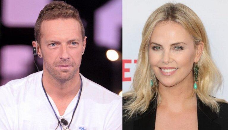 СМИ: У Шарлиз Терон роман с Крисом Мартином из Coldplay