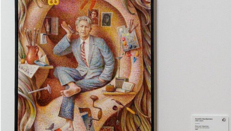 Vienas gleznas stāsts. Auseklis Baušķenieks 'Dieva ausī'