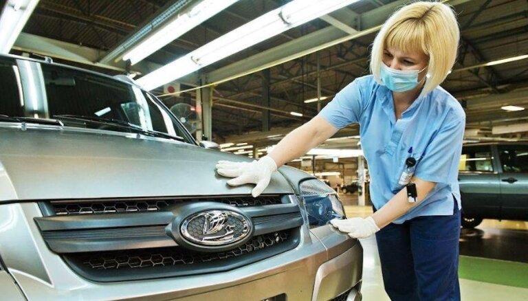 'AvtoVAZ' darbinieki saņems 17 eiro prēmiju par vakcinēšanos