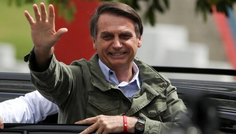 Bolsonaru plāno pārcelt Brazīlijas vēstniecību Izraēlā uz Jeruzalemi