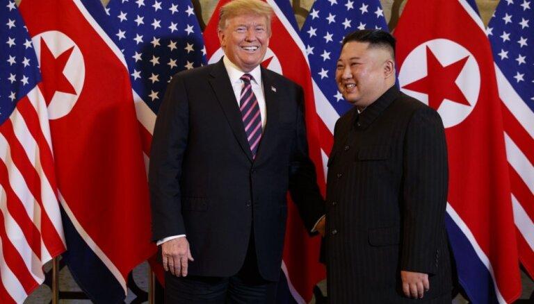 Vjetnamā sācies Trampa un Kima otrais samits