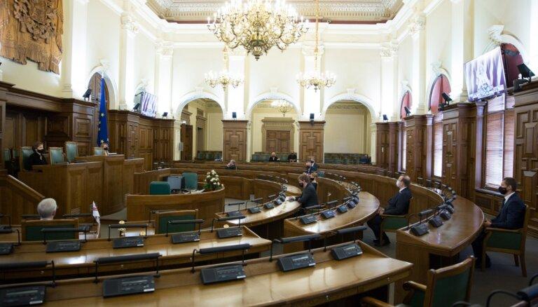 Поддержать новый состав правительства готовы более половины депутатов Сейма