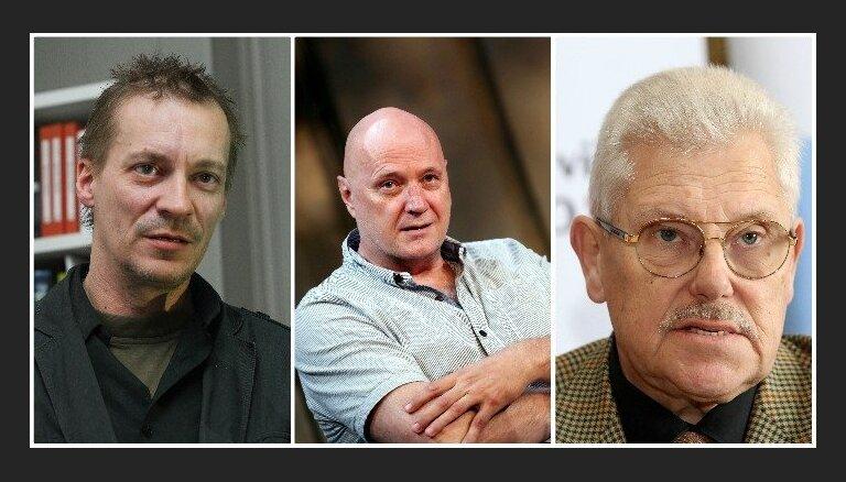 Autora balvas 2019 laureāti – Andris Akmentiņš, Juris Karlsons un Uldis Tīrons