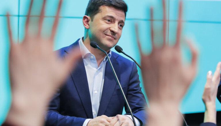 Зеленский дал первое интервью российскому телевидению