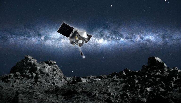 Зонд НАСА собрал образцы грунта с астероида Бенну