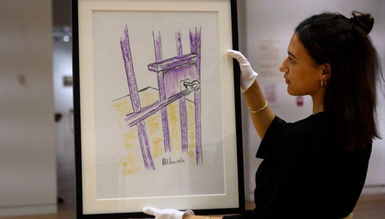 Картина Нельсона Манделы ушла с молотка за 112 тысяч долларов