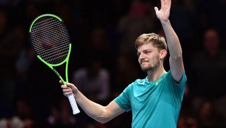 Federera pretinieks 'ATP Finals' pusfinālā būs Gofēns