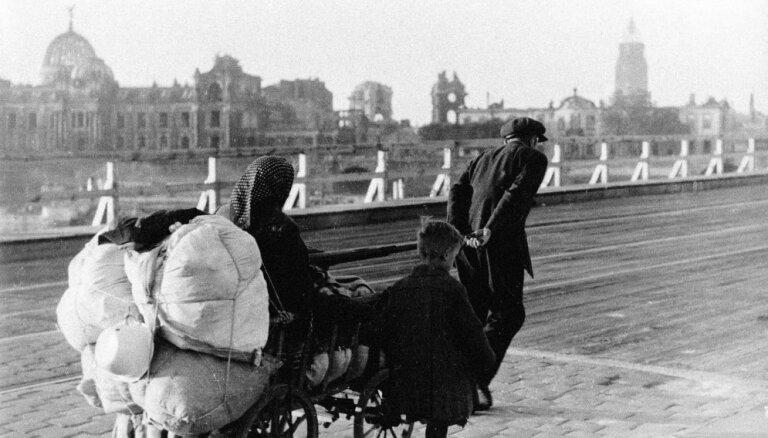 Bēgļi liesmu jūrā – kā latvieši 1945. gadā pārdzīvoja Drēzdenes pelnu dienas