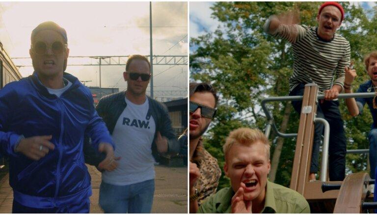 Lauris Reiniks slavas saulītē ved puišu grupu 'Citi zēni'