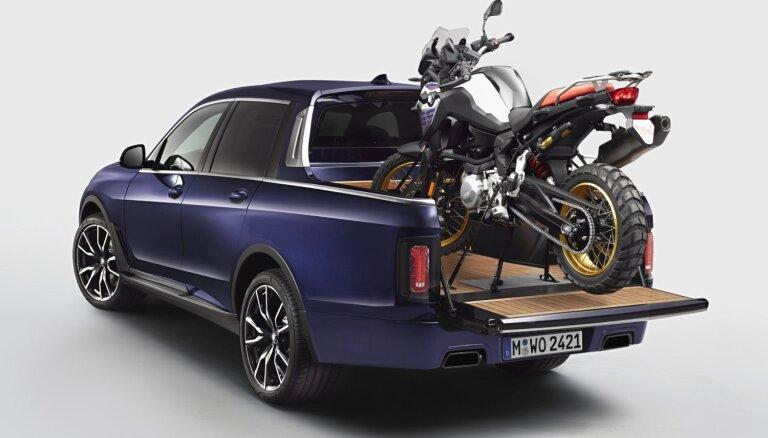 BMW kompānijā izstrādāts 'X7' pikapa prototips