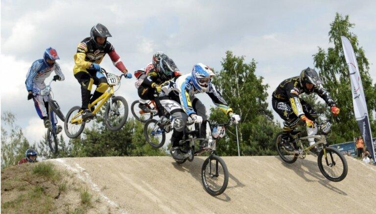 'SMScredit.lv' BMX čempionāta posmā arī Latvijas elites čempions Treimanis