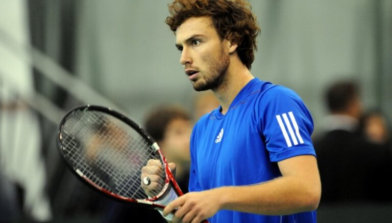 Gulbis uzlabo situāciju ATP rangā, Sevastova saglabā 38.pozīciju