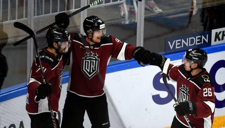 Rīgas 'Dinamo' nosargā pārsvaru un izcīna otro panākumu pēc kārtas