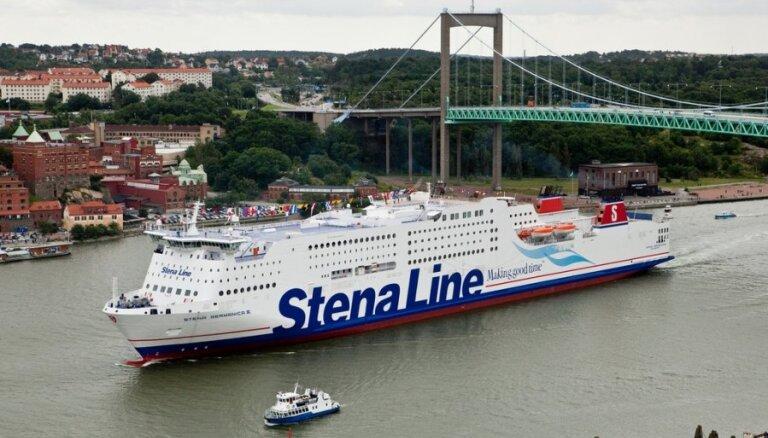 Prāmju operators 'Stena Line' palielina reisu skaitu no Latvijas uz Zviedriju