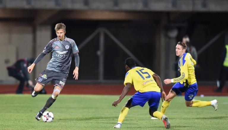 'Ventspils' futbolisti pēdējā kārtā nodrošina Latvijas vicečempionu godu; 'Metta'/LU atkal būs jāpiedalās pārspēlēs