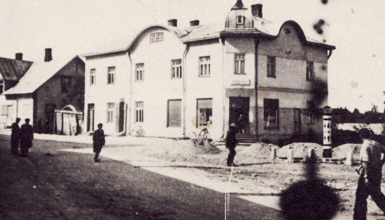 Ceļojums laikā: kāda izskatījās Rauna pagājušā gadsimta vidū