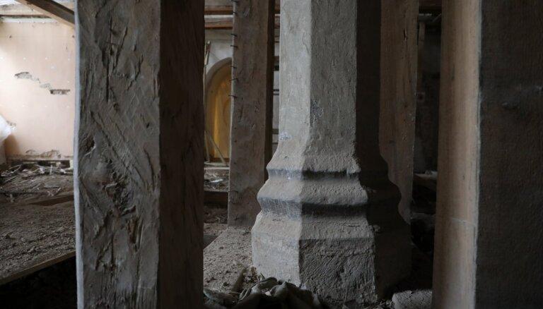 Tiks saglabāta Rīgas pils restaurācijas darbu laikā atrastā hipokausta krāsns