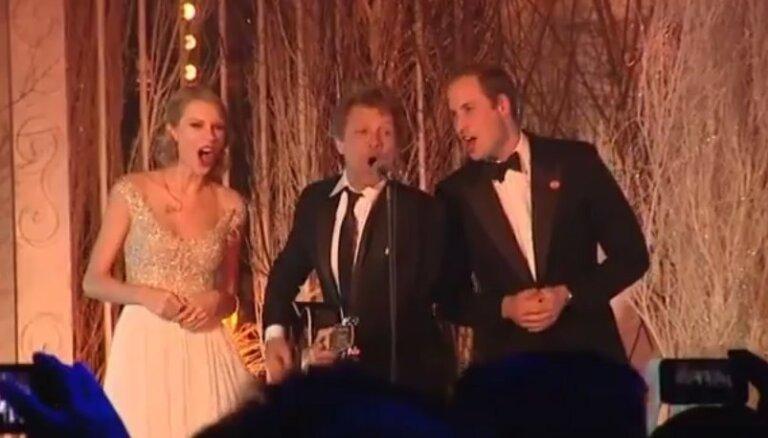 ВИДЕО: Принц Уильям спел с Джоном Бон Джови