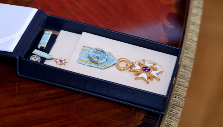 Левитс назначил Сармите Элерте канцлером Капитула орденов