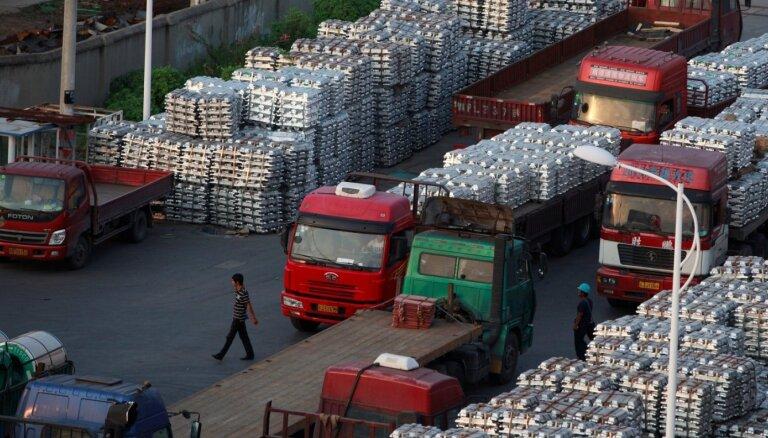 ES nosaka muitas tarifus Ķīnas alumīnija produktiem