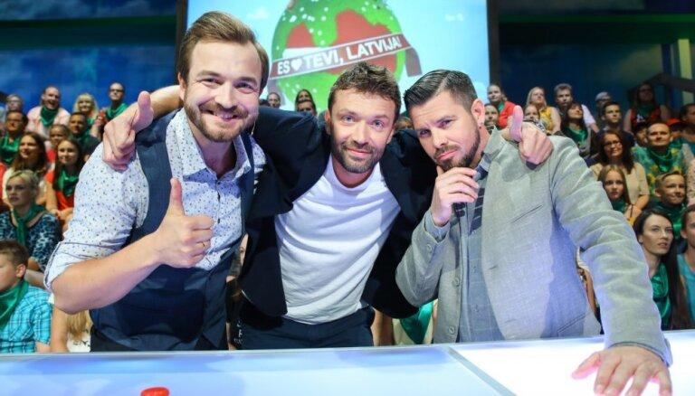 Pie televīzijas skatītājiem atgriežas lielais Latvijas mīlēšanas šovs