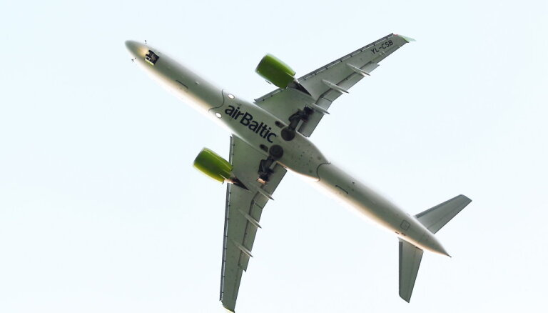 airBaltic установила новый рекорд по числу пассажиров