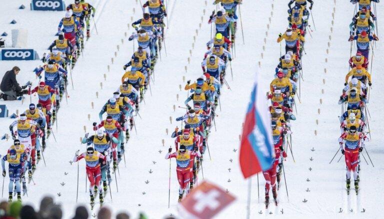 Bikše ieņem 54.vietu 'Tour de Ski' 15 kilometru sacensībās ar kopēju startu