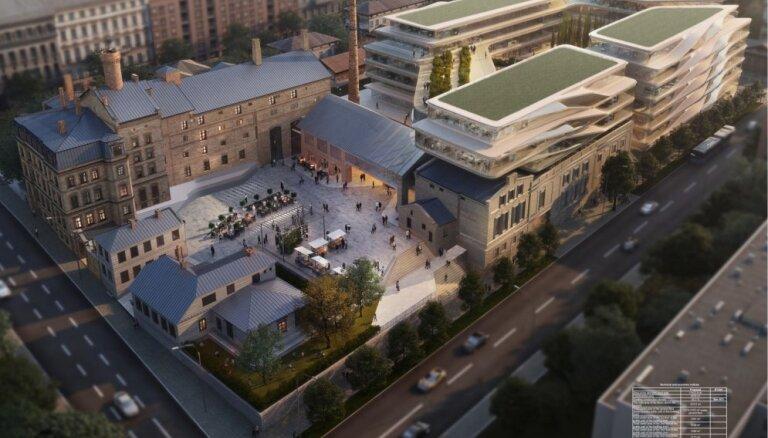 ФОТО: каким будет новый рижский бизнес-квартал Kimmel