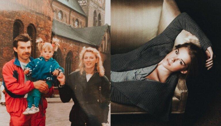 ФОТО: Дочь Олега Знарка поделилась семейной фотографией из детства