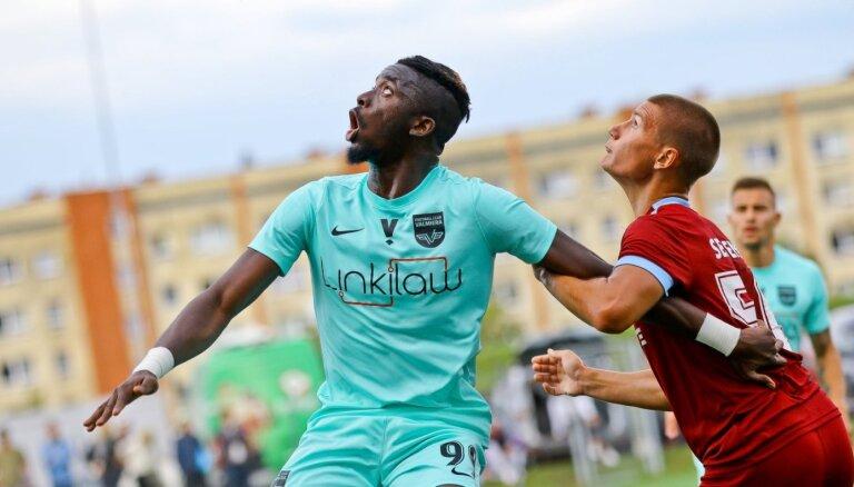 'Valmiera' FC noraidījusi 1,5 miljonu eiro piedāvājumu par Arokodari
