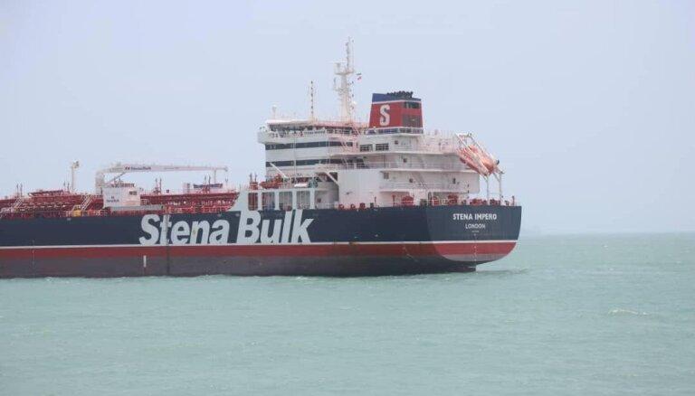 Izmeklēšana 'Stena Impero' lietā atkarīga no apkalpes sadarbības, paziņo Irāna