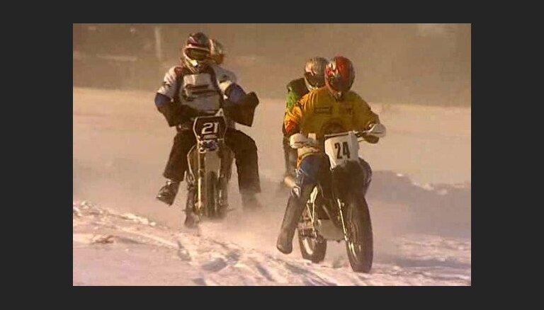 Skijoringa čempionāts - pēdējais