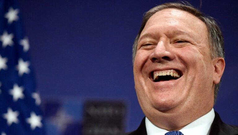 Ja Ziemeļkoreja atteiksies no kodolieročiem, ASV palīdzēs tai sasniegt labklājību, pauž Pompeo