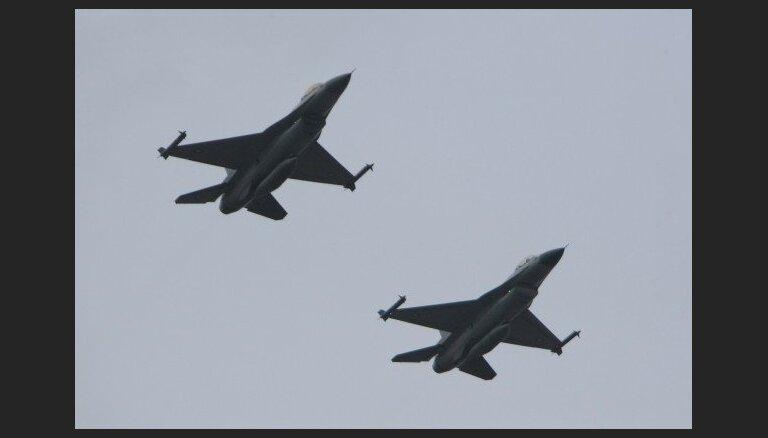 Небо над странами Балтии начнут контролировать ВВС Бельгии