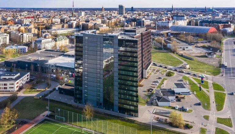 Bijusī 'ABLV Bank' centrālā ēka pārtapusi par biroju ēku 'Jupiter Tower'