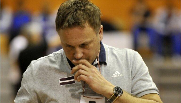 Latvijas handbola izlases treneris apmierināts tikai ar rezultātu mačā pret Kipru