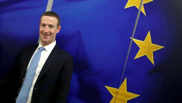 Zakerbergs brīdina Eiropu par Ķīnas interneta kontroles draudiem