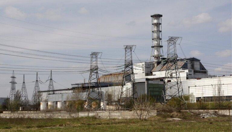 В чернобыльской зоне возобновился природный пожар