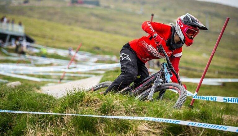 Žibasa Andorā izcīna ceturto vietu Pasaules kausa junioru sacensībās nobraucienā