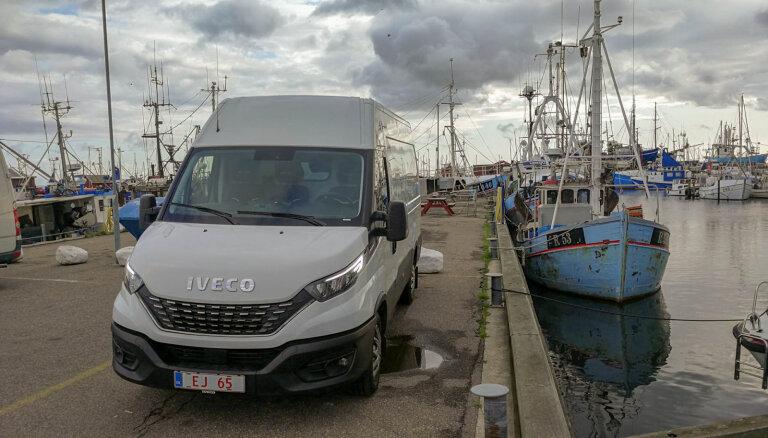 Furgons ar 'Maserati' kārbu: 'Delfi' izmēģina jauno 'Iveco Daily'